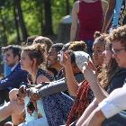audience of the musical theatre at the Spring Arts Festival, Kennesaw State University