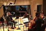KSU chamber students recording the works of KSU student composers in a professional studio.