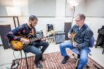 Applied guitar lesson with Trey Wright, Senior Lecturer of Jazz Studies and Jazz Guitar.