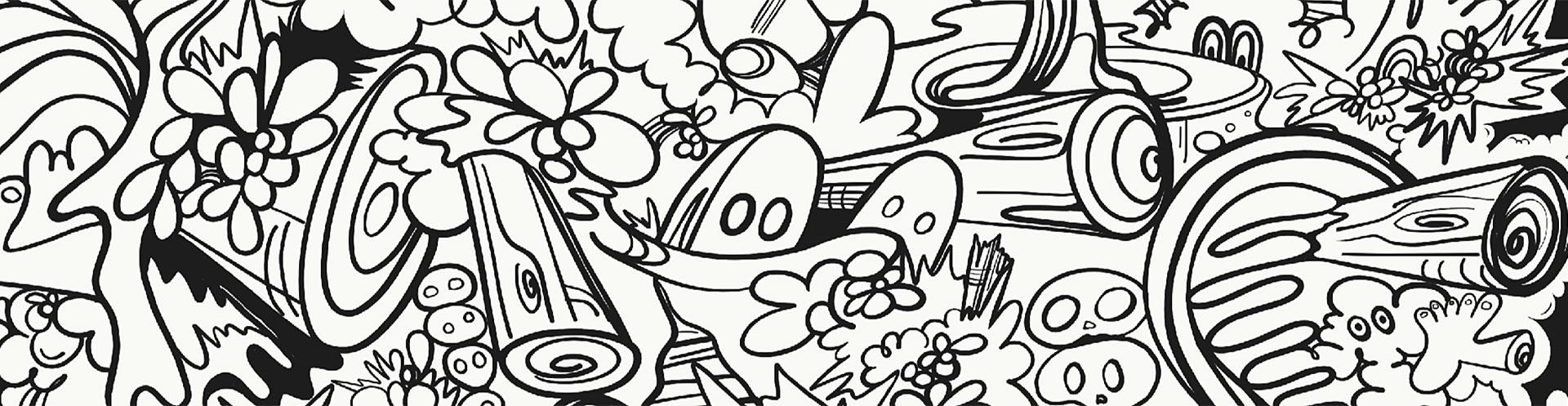 ZMA Presents Artist-Made Coloring Book Pages