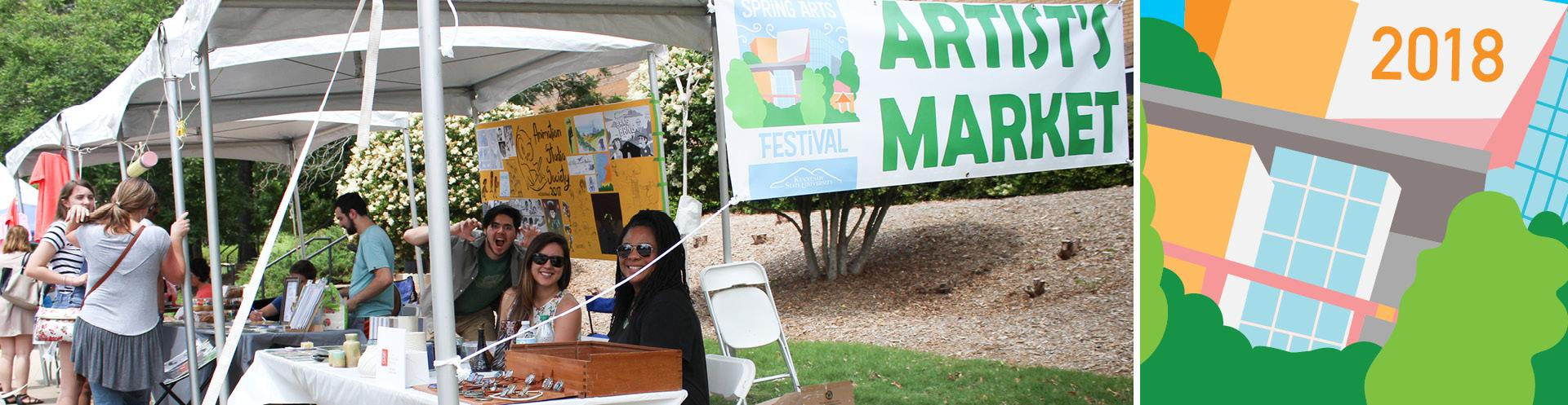 Call for Spring Arts Festival Artist Market Artists