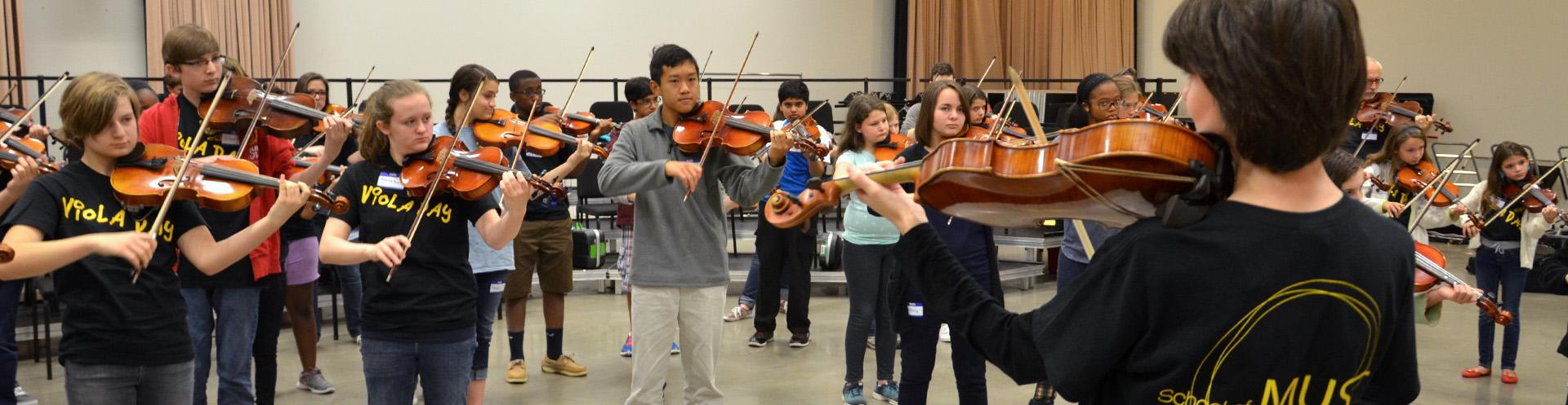 Festivals and Workshops for Young Musicians