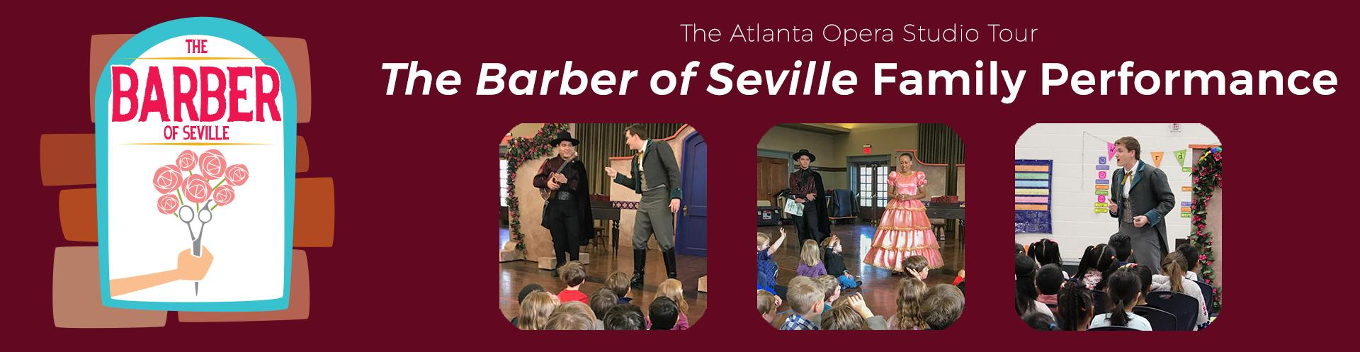 March 23: The Barber of Seville Family Performance