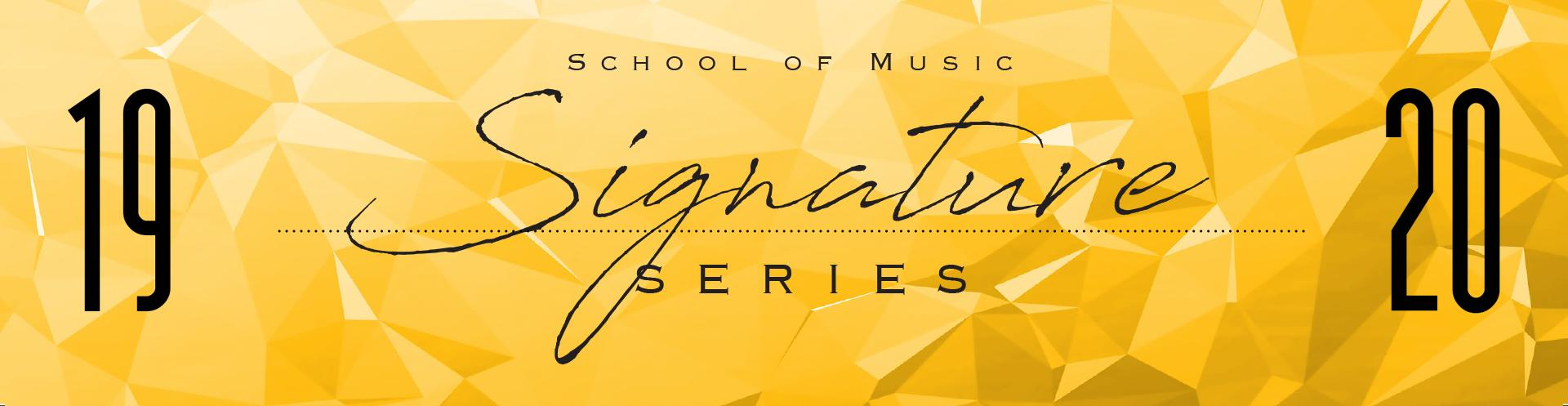 Announcing the 2019-20 Signature Series