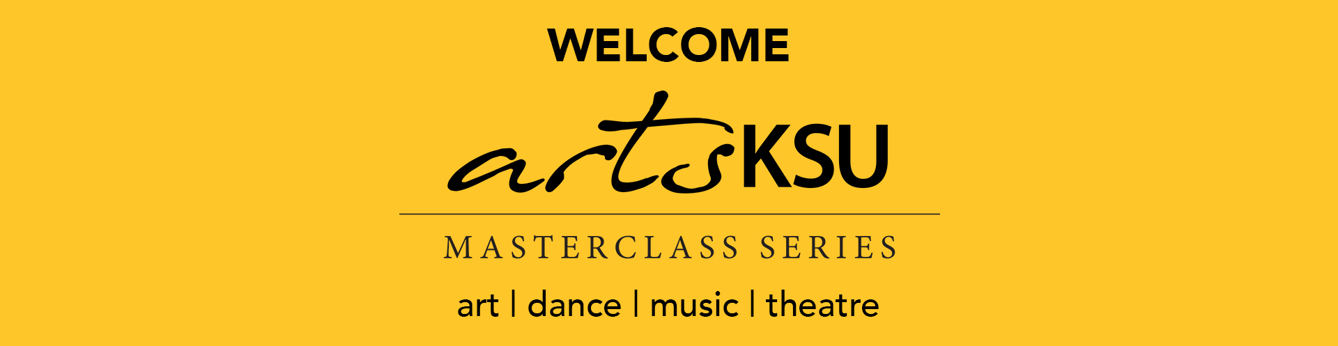 banner for masterclass series