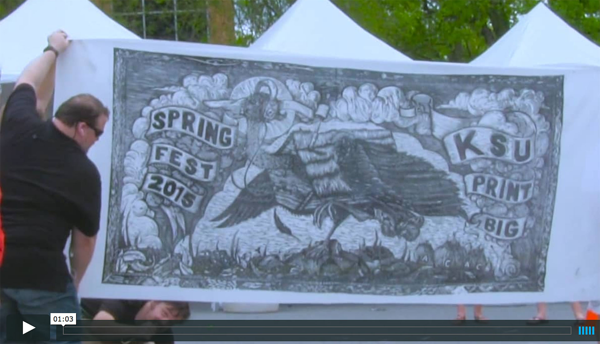 2016 Spring Arts Festival promotional video