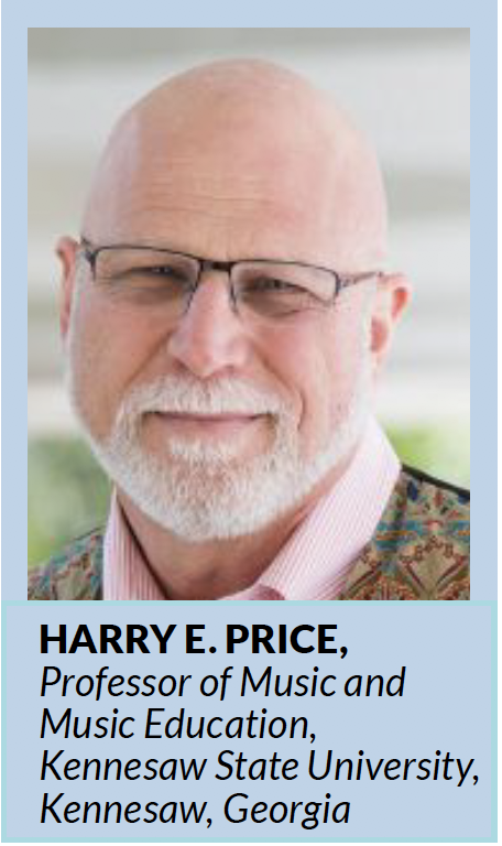 Harry E. Price is the recipient of the 2018 NAfME Senior Researcher award.