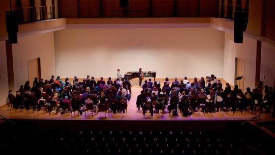 KSU Music Internationally-acclaimed Violinist Midori Visits KSU-2