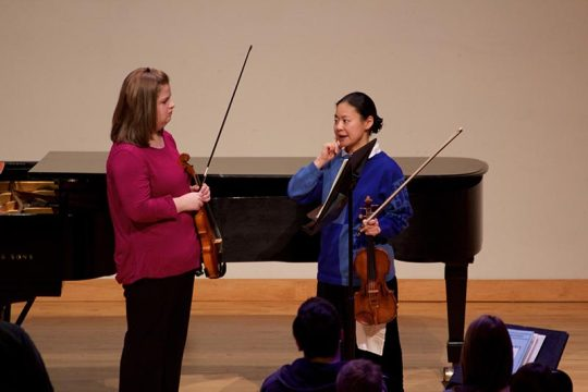 KSU Music Internationally-acclaimed Violinist Midori Visits KSU-3