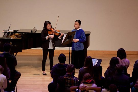 KSU Music Internationally-acclaimed Violinist Midori Visits KSU-4