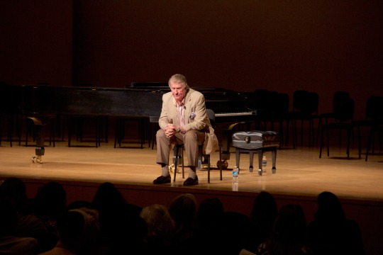 KSU Music Opera star Sherrill Milnes Visits Kennesaw State for Lecture and Masterclass-3