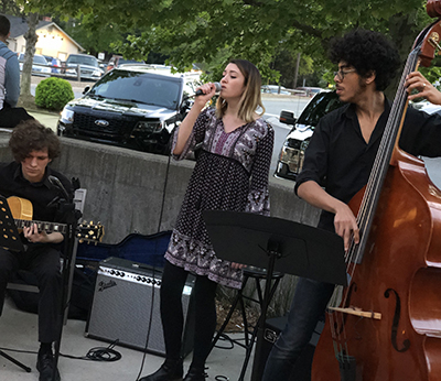 KEEPING JAZZ ALIVE Kristin Houston KSU jazz ambassador - page photo-2