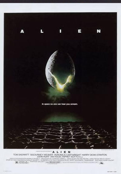Alien Movie Poster Small