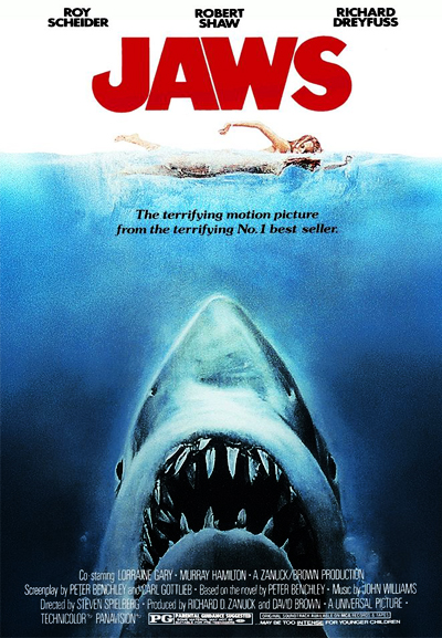 Jaws Movie Poster Small