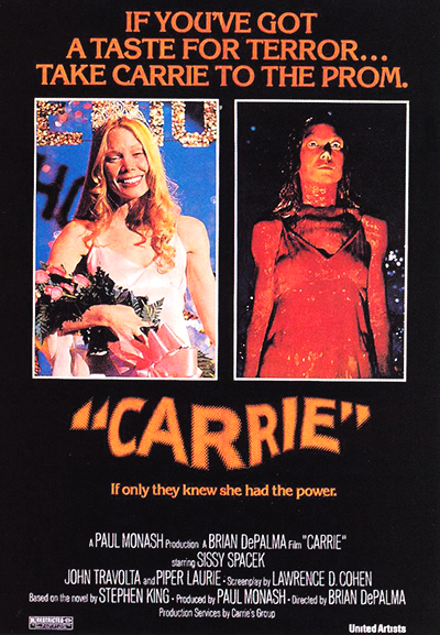 Carrie Movie Poster Web