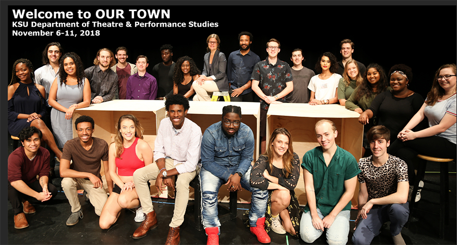 KSU Theater Our Town Cast