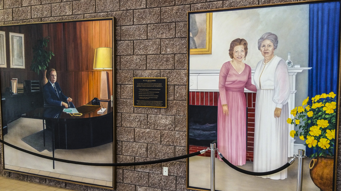 Paintings Of The Apparel Building At The Marietta Campus Of Kennesaw State  University