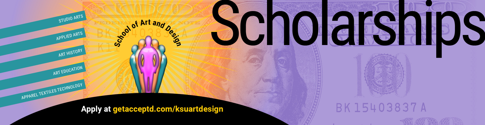 Scholarships are available to students of the School of Art and Design at Kennesaw State