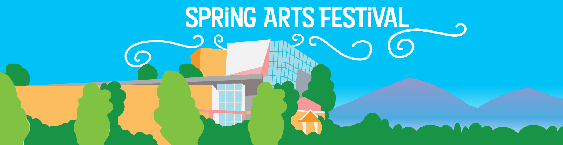 Spring Arts Festival Graphic Banner
