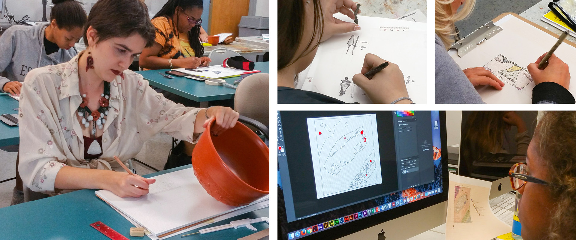 archeological illustration special topics course