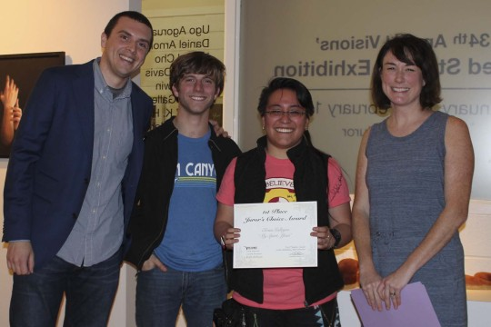 Congratulations to the prize winners of our 34th Annual Visions Student Juried Exhibition-photo1
