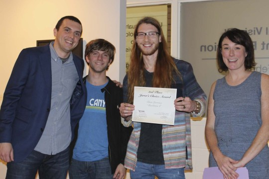 Congratulations to the prize winners of our 34th Annual Visions Student Juried Exhibition-Photo5