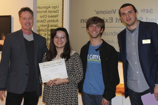 Congratulations to the prize winners of our 34th Annual Visions Student Juried Exhibition-Photo11