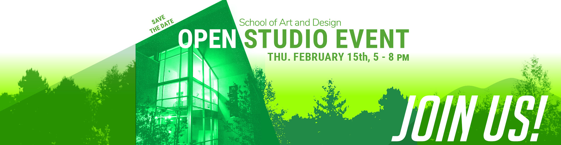 Open Studios Event of the School of Art and Design